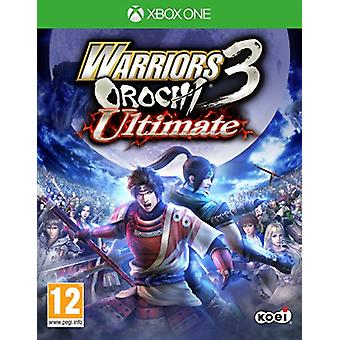 Warriors Orochi 3 Ultimate (Xbox One) - Factory Sealed