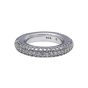 ESPRIT collection damer ring silver Peribess cubic zirconia ELRG91505A1