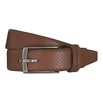 LLOYD Men's belt belts men's belts leather belt brandy 5363