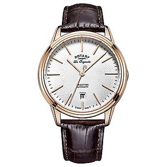 Rotary Mens Les Originales Tradition Brown Leather GS90164/02 Watch