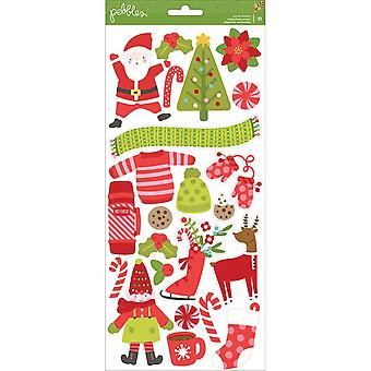 Holly Jolly Stickers Accents 6