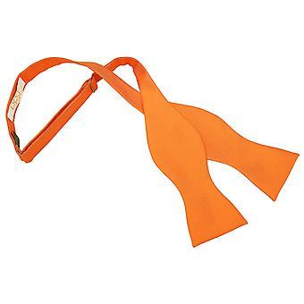 Celosia oranje solide Check zelf Tie Bow Tie