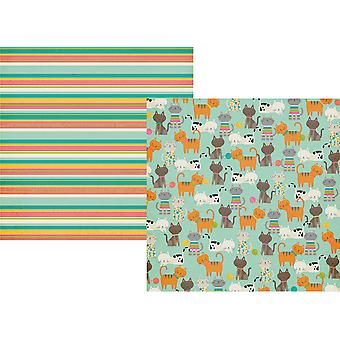 Simple Sets Life Is Purrfect Double-Sided Cardstock 12