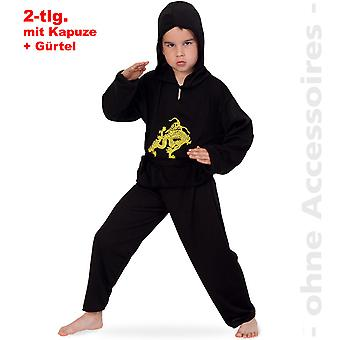 Ninja costume children fighters karate fighter child costume