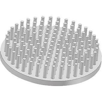 Heat sink (pins) 5.28 C/W (Ø x H) 50 mm x 10 mm Fischer Elektro