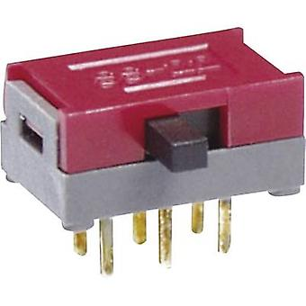 Slide switch 30 Vdc 0.1 A 1 x On/On NKK Switches SS12SDH2 1 pc(s)