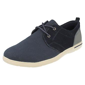 Mens Padders Casual Lace Up Shoes Liam