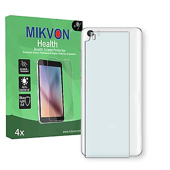 Xiaomi Mi5 reverse Screen Protector - Mikvon Health (Retail Package with accessories) (intentionally smaller than the display due to its curved surface)