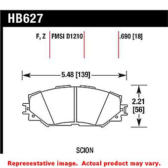 Hawk 'Performance Street' Brake Pads HB627Z.690 Fits:LEXUS 2010 - 2011 HS250H B
