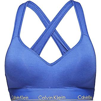 Calvin Klein Women Calvin Klein Women Modern Cotton Bralette Lift, Pure Cerulean Blue, Large