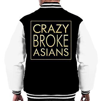 Crazy brøt asiater menn Varsity jakke