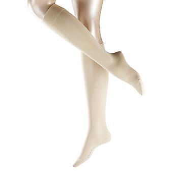 Falke Cotton Touch haute de genou chaussettes - crème
