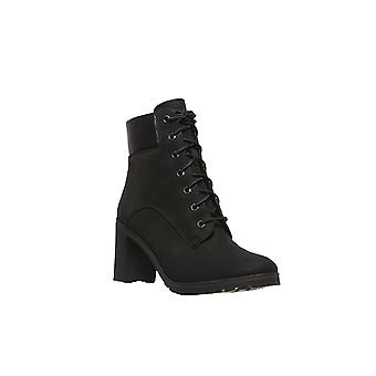 Timberland women's lace ankle boots black