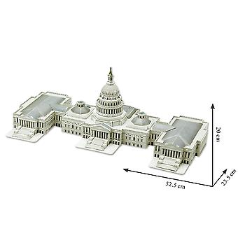 3D Puzzle The U.S. Capitol