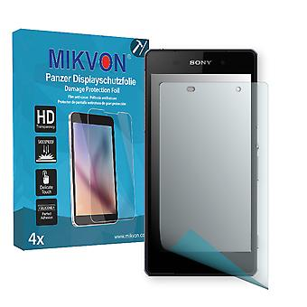 Sony Xperia D6543 Screen Protector - Mikvon Armor Screen Protector (Retail Package with accessories)