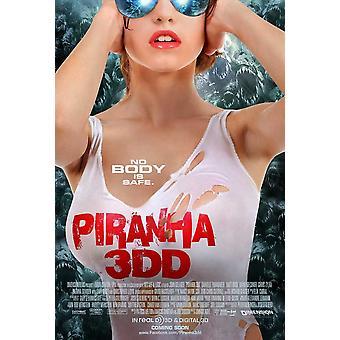 Piraña 3DD Movie Poster (11 x 17)