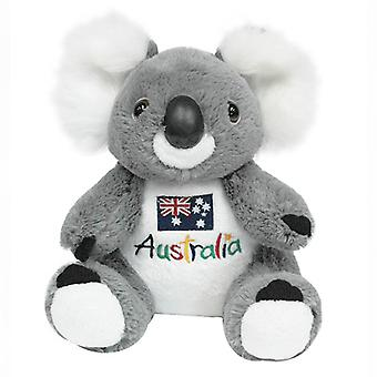 22cm Koala Plush w/ Embroidered Front