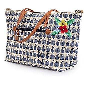 Rose doublure Nottinghill Tote