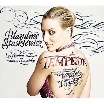 Handel / Staskiewicz / Les Ambassadeurs / Kossenko - Tempesta [CD] USA import