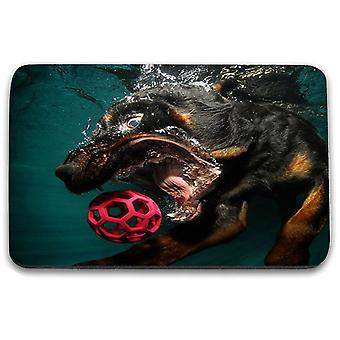 i-Tronixs - Underwater Dog Printed Design Non-Slip Rectangular Mouse Mat for Office / Home / Gaming - 1