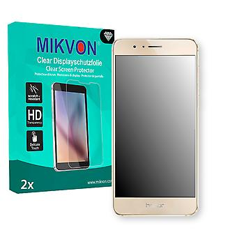 Huawei Honor 8 Screen Protector - Mikvon Clear (Retail Package with accessories) (reduced foil)