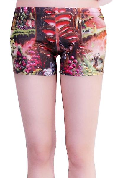 Waooh - Fashion - printed Shorty imaginary landscape