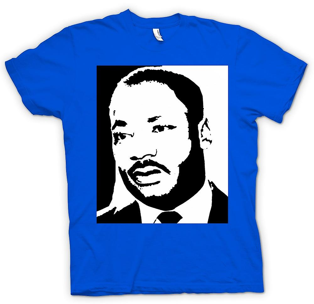 Mens t-skjorte - Martin Luther King - BW-ikonet
