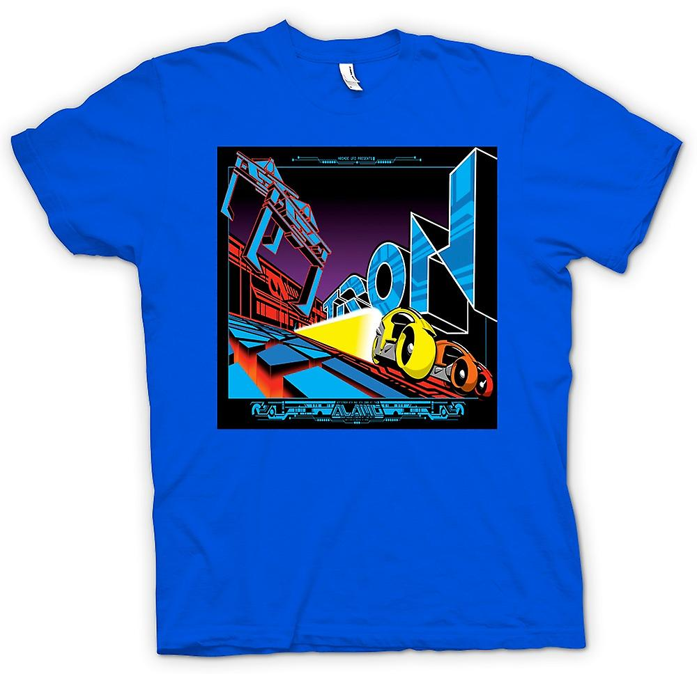 Heren T-shirt-Tron - popart - Cool B film