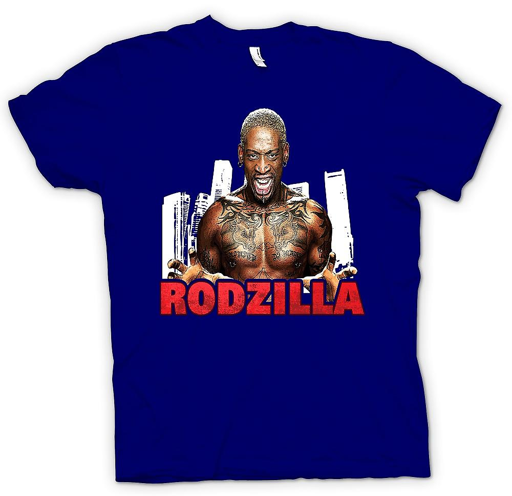 Mens T-shirt - Rodzilla - Rodman tatouage