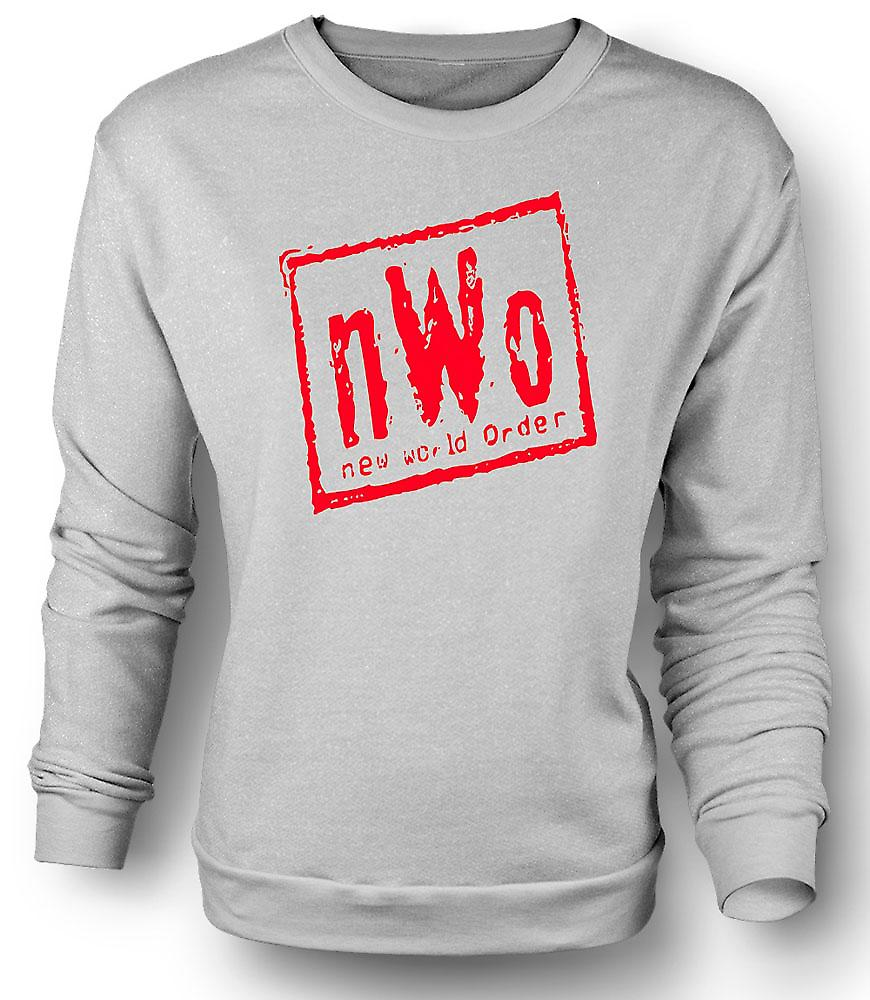 Mens Sweatshirt NWO New World Order
