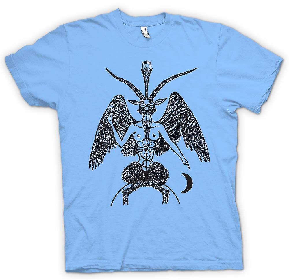 Mens t-skjorte - Horned Gud - hedenske heksekunst