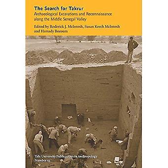 Sökandet efter Takrur: arkeologiska utgrävningar och spaning längs mitten Senegal dalen (Yale University...