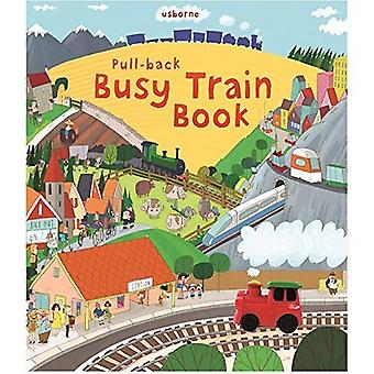 Pull-back ocupado trem (série Usborne Pull-back)