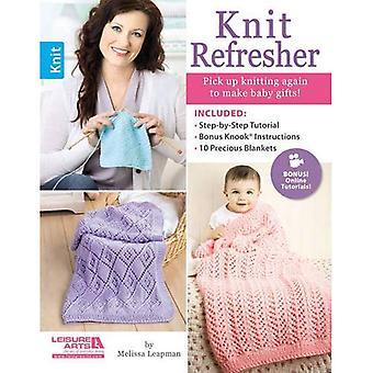 Knit Refresher: Pick Up Knitting Again to Make Grandbaby Gifts!
