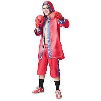 Mester bokseren kostyme jakke bukser hansker Boxer kostyme menn