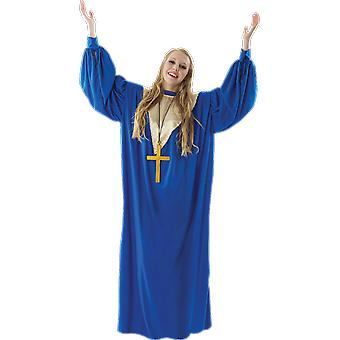 Orion Costumes Womens Blue Gospel Choir Singer Robe Fancy Dress Costume