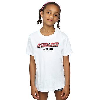 Marvel Mädchen Sterne Herrn AKA Peter Quill T-Shirt