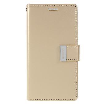 Mercury GOOSPERY Rich Diary to Samsung Galaxy S10e-Gold