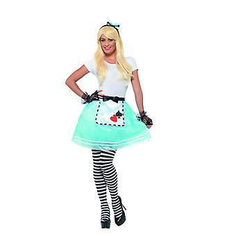 País de las maravillas conjunto traje de las mujeres cuentos de carnaval Wonderland Kit
