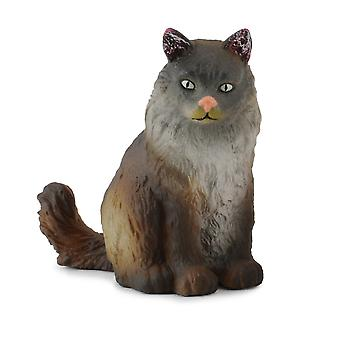 CollectA Norwegian Forest Cat - Sitting