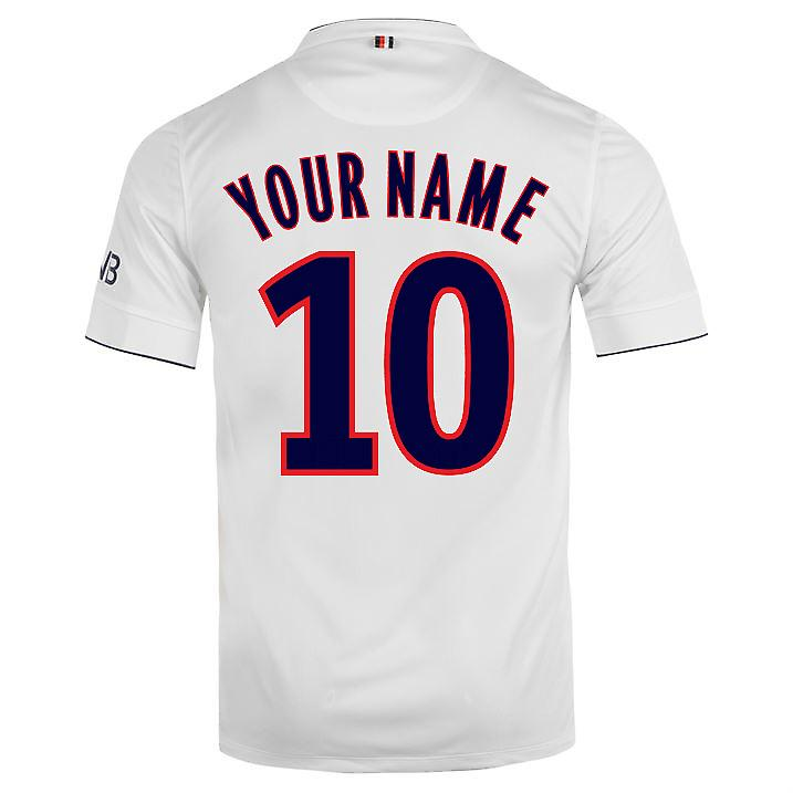 2015-16 PSG Nike Away Kit (Your Name) -Kids