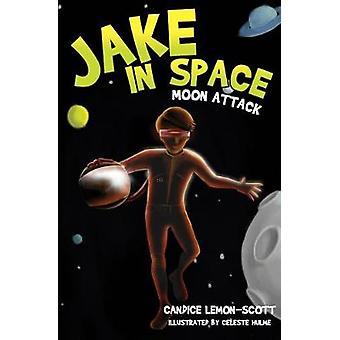 Jake in Space - Moon Attack - No. 2 by Candice Lemon-Scott - Celeste Hu