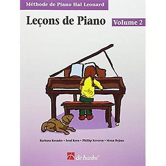 Piano Lessons Book 2 - French Edition - Hal Leonard Student Piano Libr