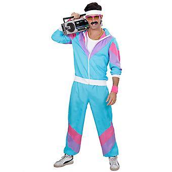 80'S Blue Shell Suit