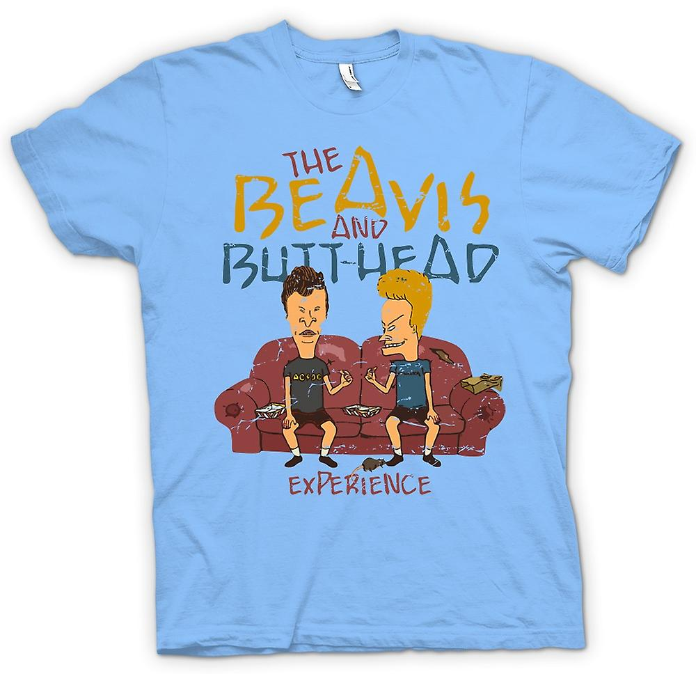 Mens T-shirt - The Beavis And Butthead Experience - Funny