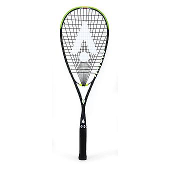 Karakal F-125 FF Squash Racket Fast Fibre Hot Zone 120 Graphite Sports 125g