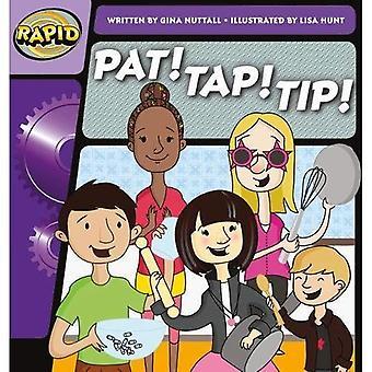 Rapid Phonics Pat! Tap! Tip! Step 1 (Fiction) (Rapid Phonics)