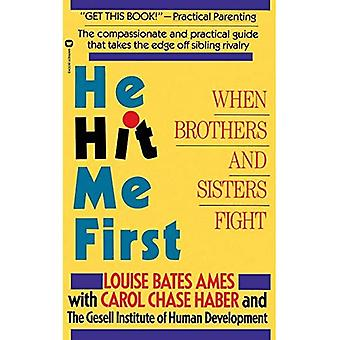 He Hit Me First: When Brothers and Sisters Fight