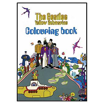 The Beatles Cartoon Yellow Submarine Official New Colouring Book