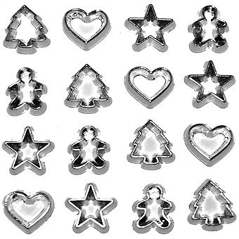 Dress It Up Holiday Embellishments Mini Cookie Cutters Diuhlday 4253